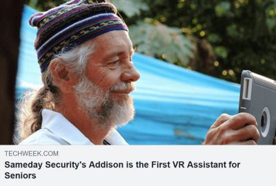 Anthony Dohrman's addison care is the world's first virtual caregiver