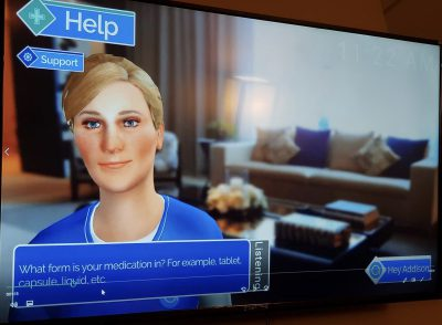 virtual caregiver addison